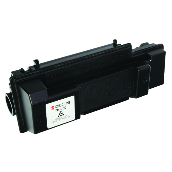 Kyocera TK-350 Black Toner Cartridge (15,000 Page Capacity)