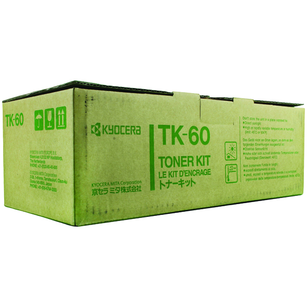Kyocera TK-60 Black Toner Cartridge (20,000 Page Capacity)