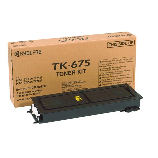 Kyocera TK-675K Black Toner Cartridge