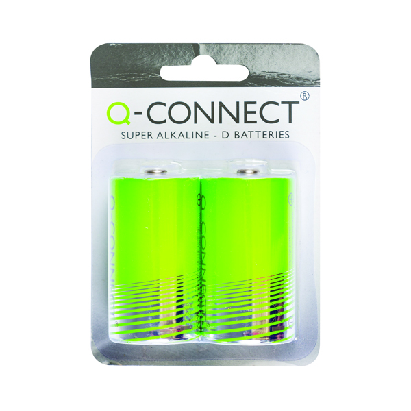 Q-Connect D Battery (Pack of 2)
