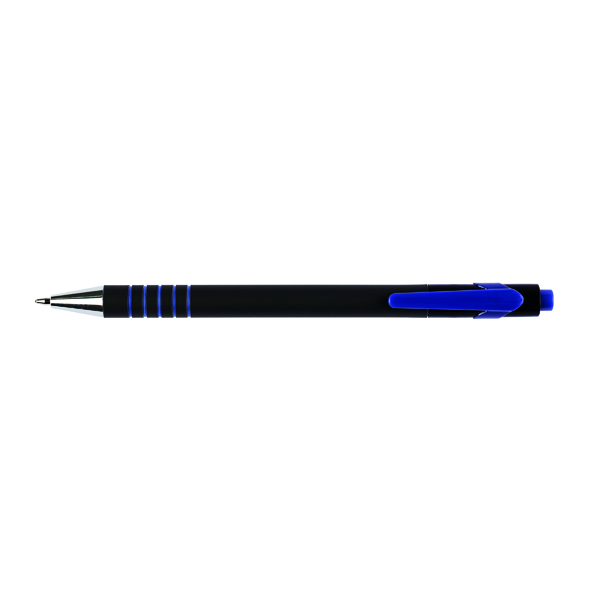 Q-Connect Lamda Ballpoint Blue Pen