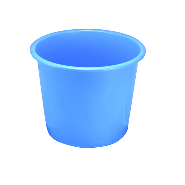Image for Q-Connect Waste Bin 15 Litre Blue CP025KFBLU