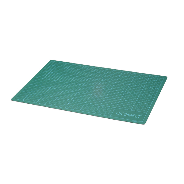 Q-Connect Cutting Mat A1 Green KF01138