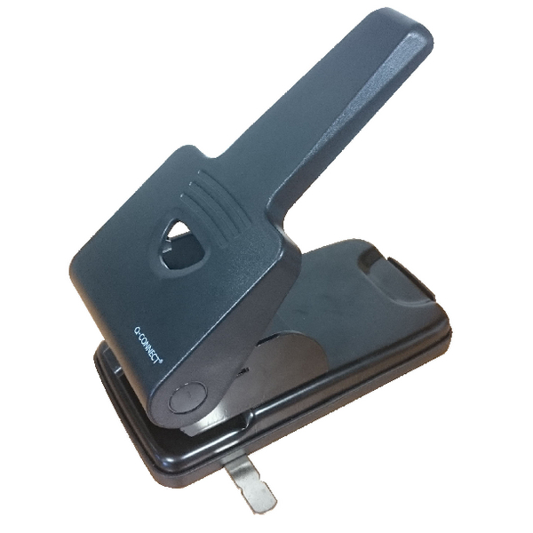 Q-Connect Extra Heavy Duty Hole Punch Black 865P