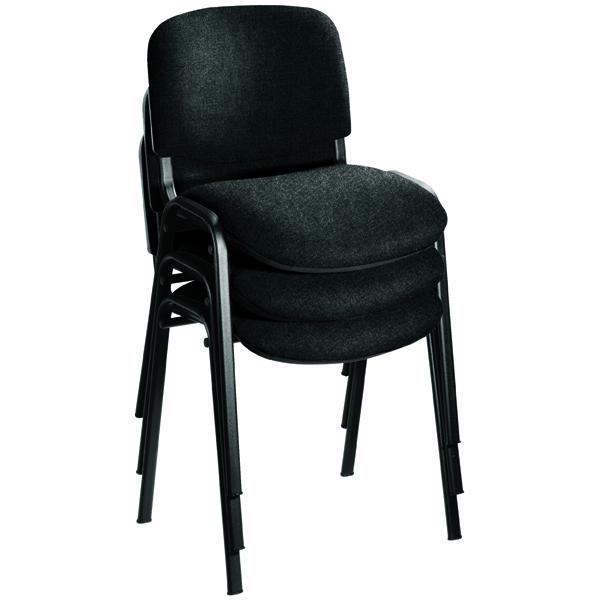 Jemini Charcoal Multi Purpose Stacking Chair