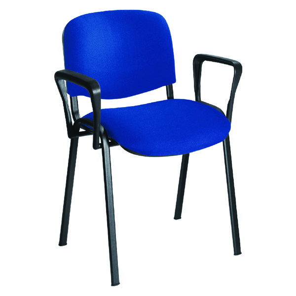 Image for Jemini Black Arms For Stacking Chair (Pack of 2)