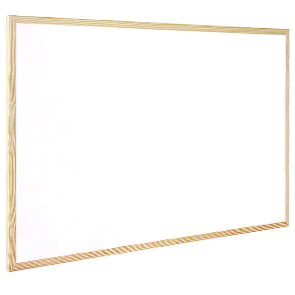 Image for Q-Connect Wooden Frame Whiteboard 400x600mm