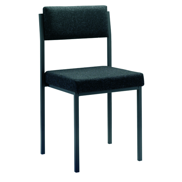 Image for Jemini Charcoal Multi-Purpose Stacking Chair