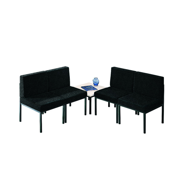 Image for Jemini Reception Charcoal Chair