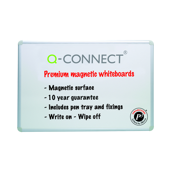 Q-Connect Magnetic Drywipe Board 1200x900mm