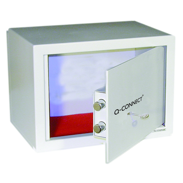 Image for Q-Connect Key-Operated Safe 10 Litre 200x310x200