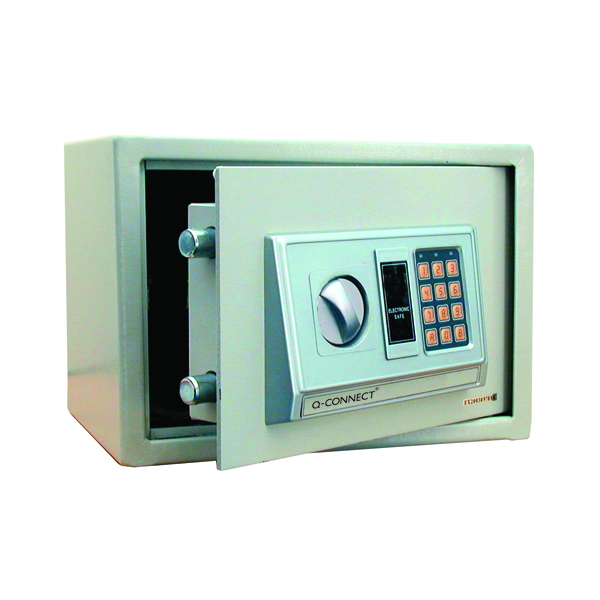 Image for Q-Connect 10 Litre Electronic Safe W310xD200xH200mm