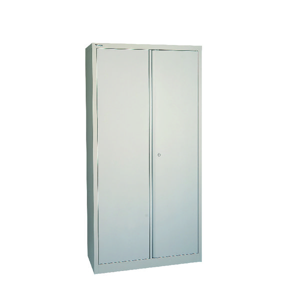 Jemini Grey 2 Door Storage Cupboard 1806mm
