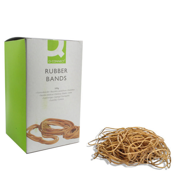 Q-Connect No.64 Rubber Bands (Pack of 500g) KF10549