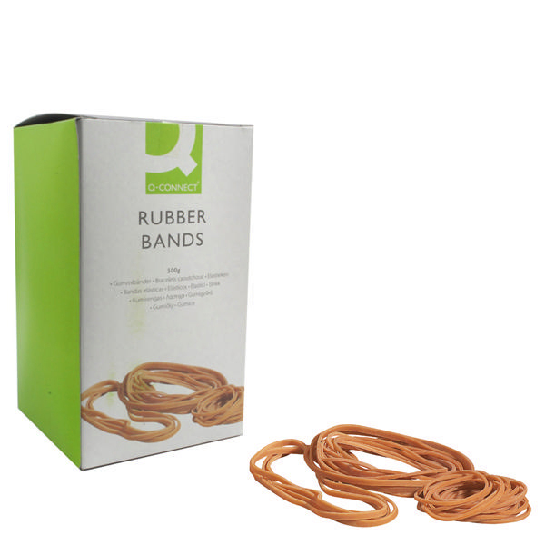 Image for Q-Connect No.89 Rubber Bands (Pack of 500g)