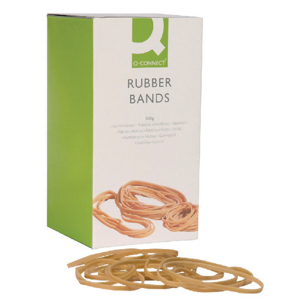 Image for Q-Connect Rubber Bands 100g Assorted