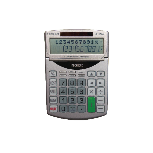 Q-Connect Semi-Desktop 12 Digit-Calculator