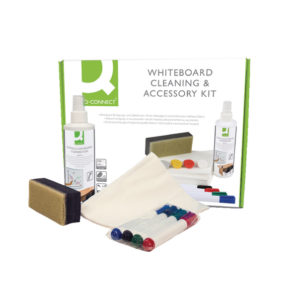 Q-Connect Whiteboard Acc/Cleaning Kit