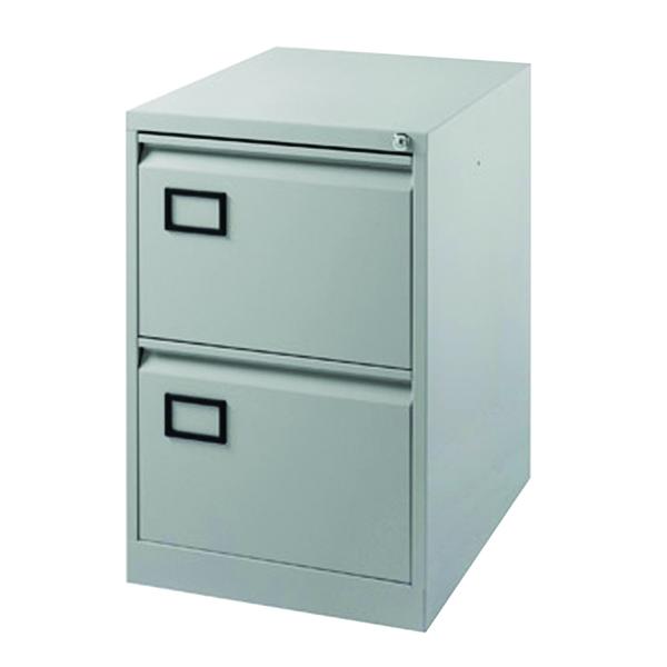 Image for Jemini Grey 2 Drawer Filing Cabinet XK2B