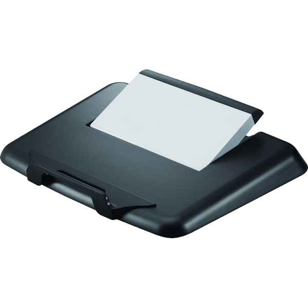 Q-Connect Black Plastic Laptop Stand KF20078