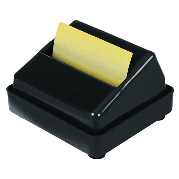 Q-Connect Black Executive Z-Note Dispenser KF21672