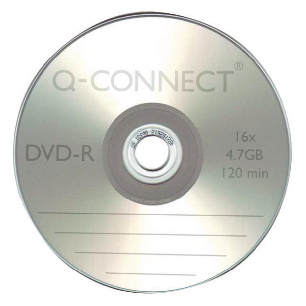 Image for Q-Connect DVD-R Slimline Jewel Case 4.7GB