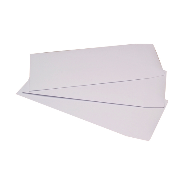 Q-Connect Pocket DL Envelopes 100gsm Self Seal White (Pack of 500) 8027