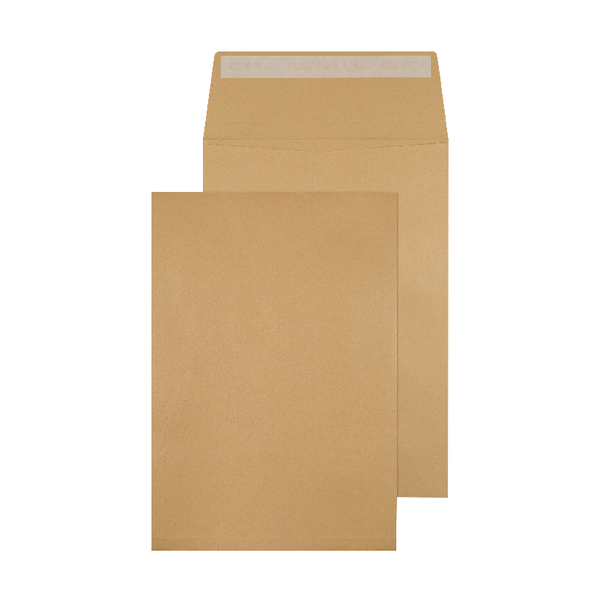 Q-Connect Gusset Envelope 324x229x25mm Peel and Seal 120gsm Manilla (Pack of 100)