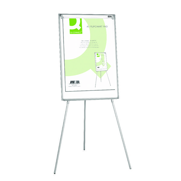 Q-Connect Flipchart A1 Pad Plain 40 Sheets (Pack of 5)