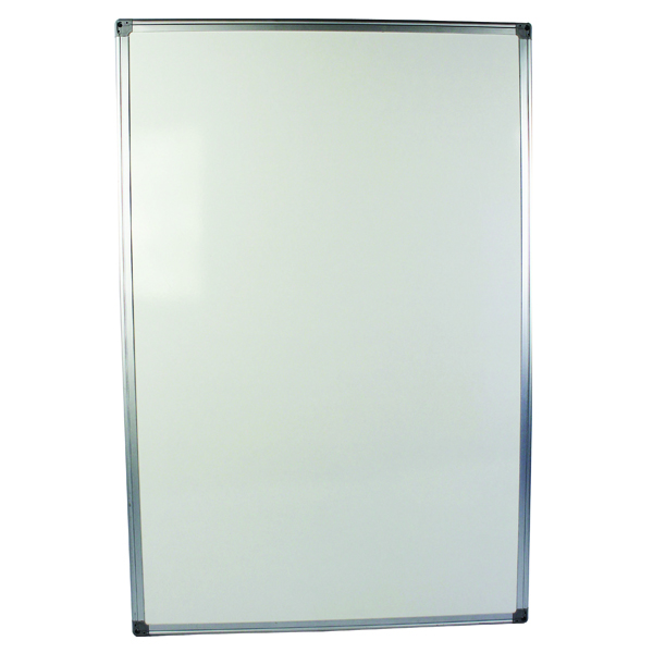 Q-Connect Aluminium Frame Whiteboard 900x600mm 54034621