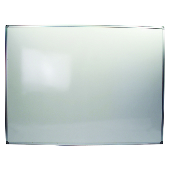 Q-Connect Aluminium Frame 1200x900mm Whiteboard KF37016