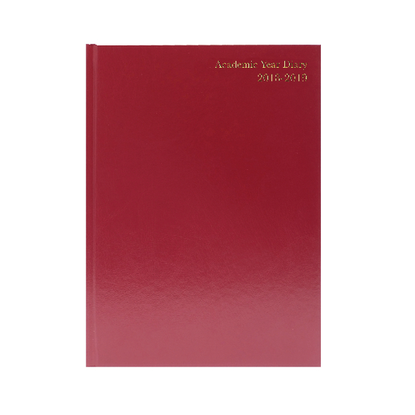 Image for Academic Burg A5 Diary Week/View 2018-19