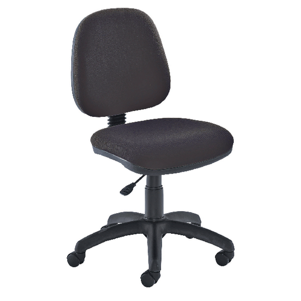 Image for Jemini Medium Back Operator Charcoal Chair