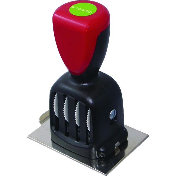 Q-Connect Voucher for Custom Rubber Date Stamp KF71432