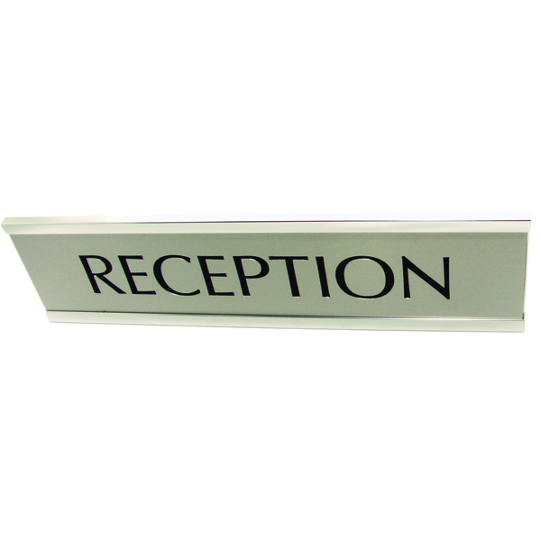 Q-Connect Custom Door or Name Plate 250x50mm KF71442