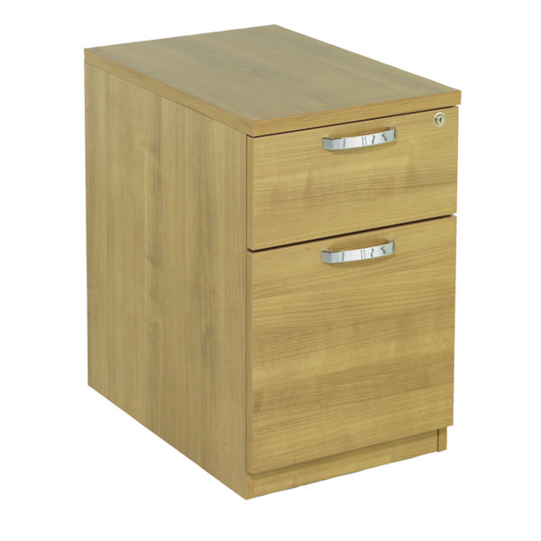 Image for Avior Ash 2 Drawer Mobile Pedestal KF72291