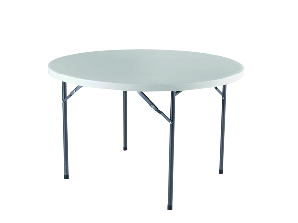 Image for Jemini 1200mm Folding Round Table White