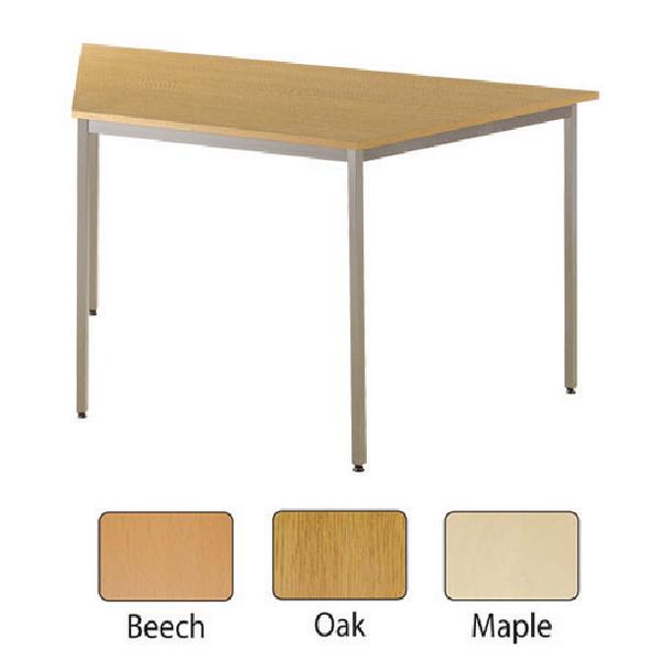 Jemini Trapezoidal Table 1600x800mm Beech