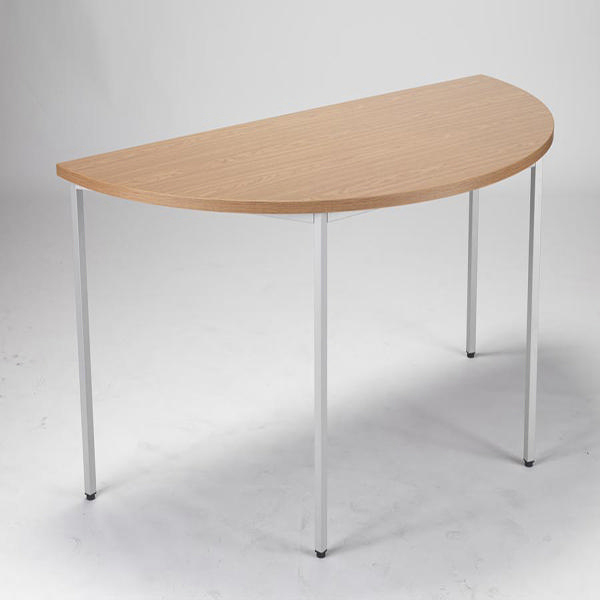 Jemini Semi-Circular Table 1600mm Oak