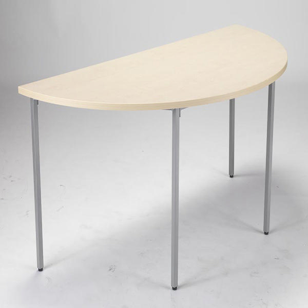 Jemini Semi-Circular Table 1600mm Maple