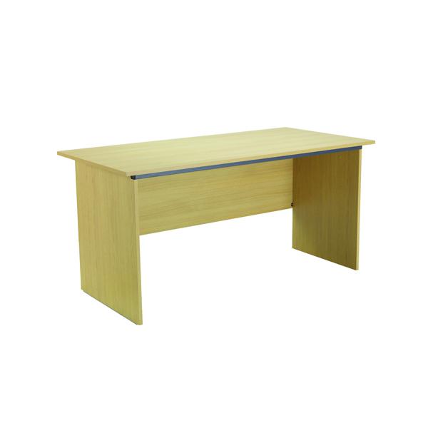 Serrion Ferrera Oak 1500mm Panel End Desk KF73663
