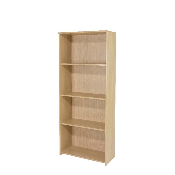Serrion Warm Maple 1750mm Large Bookcase
