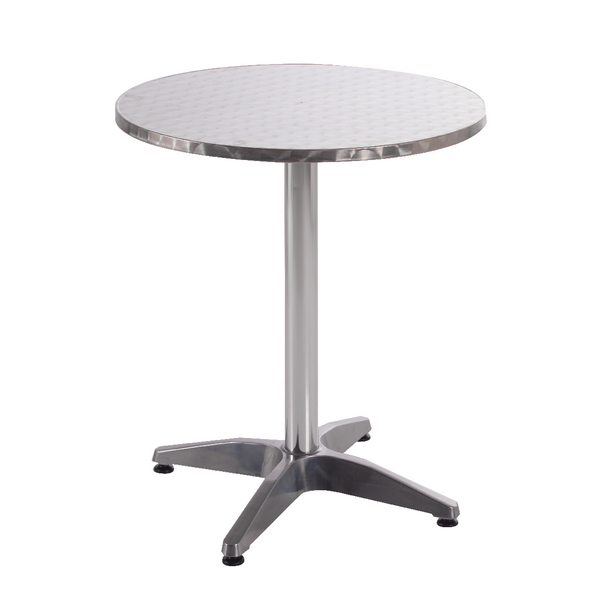 Image for Arista Aluminium Table (W600 x D600 x H700mm) KF73901
