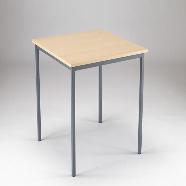 Serrion 750x750x726mm Warm Maple Training Table