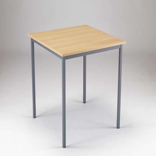 Serrion 750x750x726mm Ferrera Oak Training Table