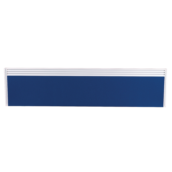 Image for Arista Tool Rail Screen Including Brackets 1500mm Blue
