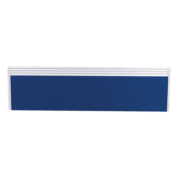 Image for Arista Tool Rail Screen Including Brackets 1200mm Blue