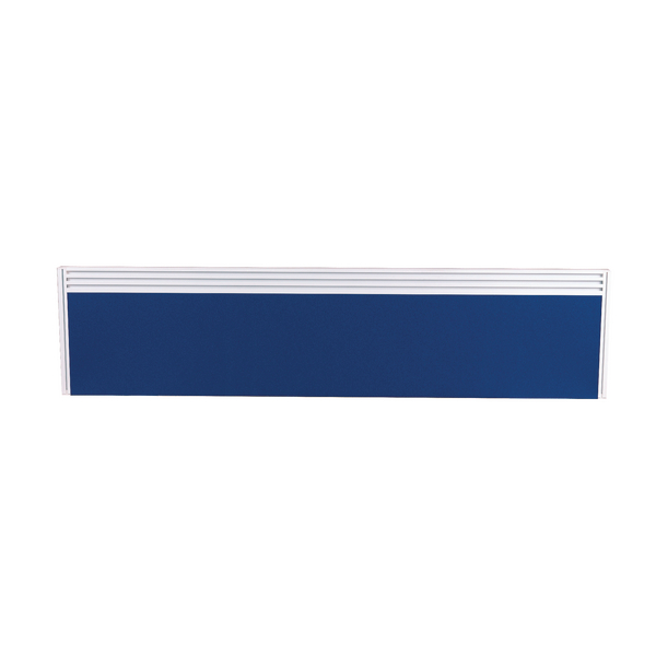 Image for Arista Tool Rail Screen Including Brackets 1400mm Blue