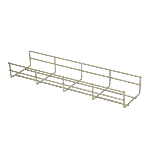 Image for Jemini Silver Cable Management Basket 800mm