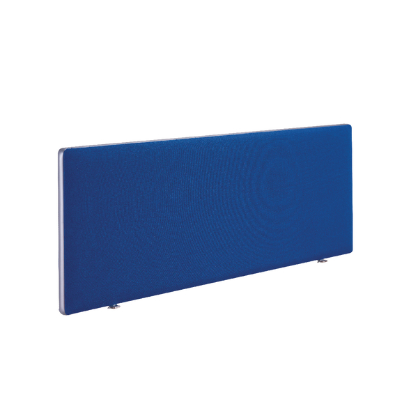 Image for First Desk Mounted Screen H400 x W1600 Special Blue